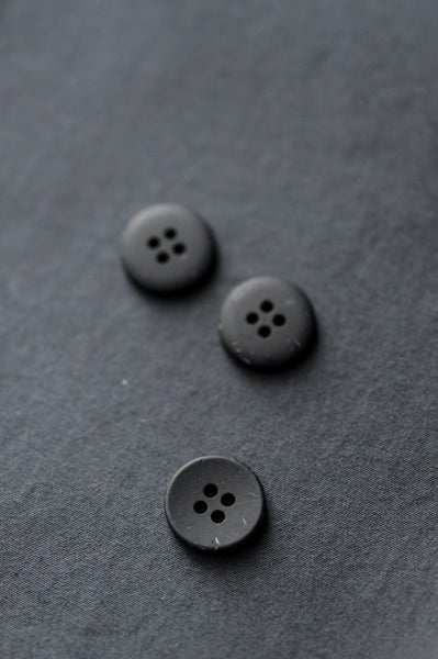 Recycled Resin Buttons / 18mm / 3 Colors Available