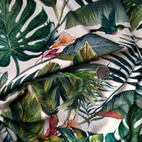 Viscose Crepe Jersey / Palm Fronds
