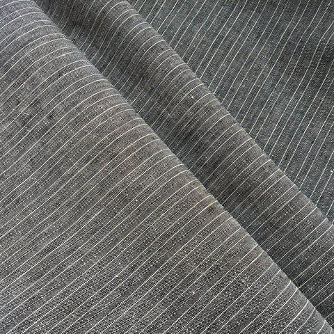 Linen Stripe in Steel