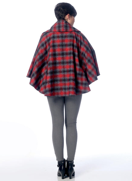 McCalls 7202 / Misses Ponchos with Hood