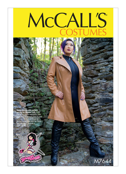 McCalls 7644 / Misses Coat