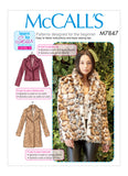 McCalls 7847 / Misses Coats