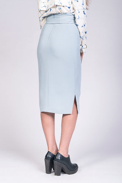 Pulmu High-Waisted Pencil Skirt
