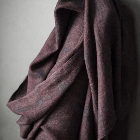 Laundered Linen / Crushed Damson
