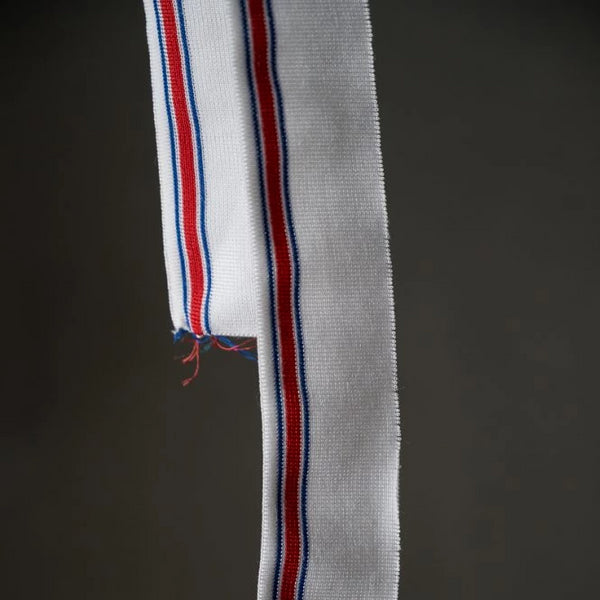 Striped Ribbing / Match Point Red