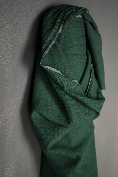 Linen Cotton / Frontier Emerald