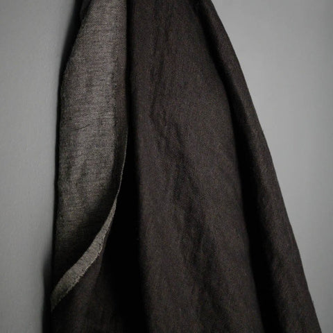 Woolsey Linen Wool / Black