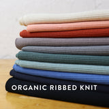 Organic Ribbed Knit / Regatta
