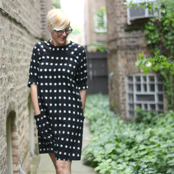 Merchant & Mills Ikat + Rushcutter Dress