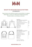 Right to Roam Rucksack