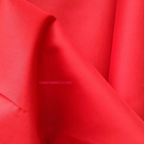 Cotton Organdy / Red
