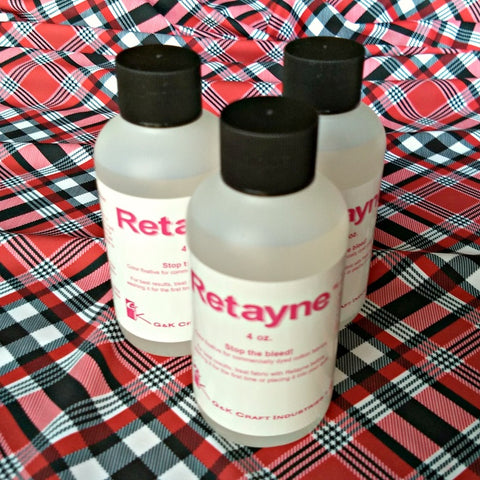 Retayne Color Fixative / 4oz Bottle