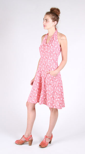Rose City Halter Dress