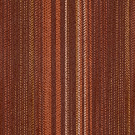 Yarn Dyed Flannel / Russet Stripe