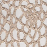 Double Scallop Lace in Champagne