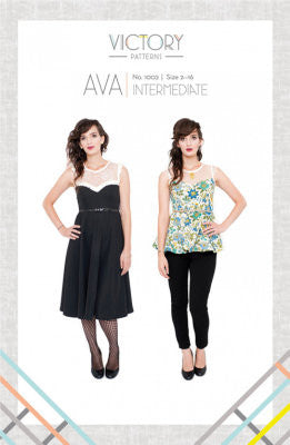 Ava Dress & Blouse