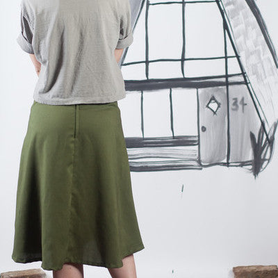 A-Frame Pencil & A-Line Skirt