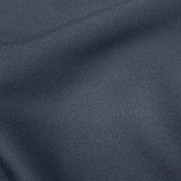 Viscose Crepe in Midnight