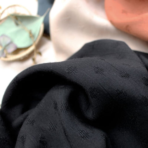 Diamond Viscose / Black