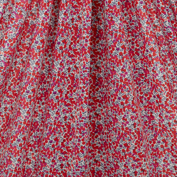 Classic Tana Lawn: Wiltshire in Red