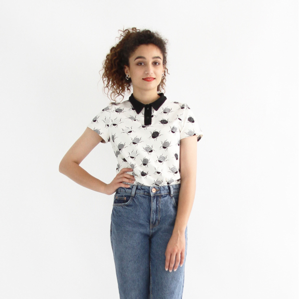 Chouette Polo Shirt + Bodysuit