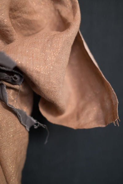 Laundered Linen / Copper Luxe Metallic