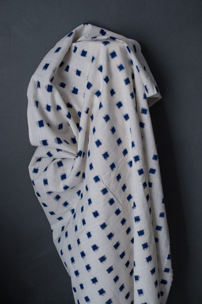 Cottontail Ikat in Blue