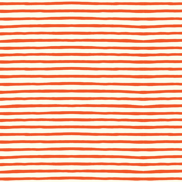 Sailor Stripe Double Gauze in Red