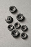 Corozo Buttons 14, 18 or 22mm / Set of 6 / 4 Colors Available