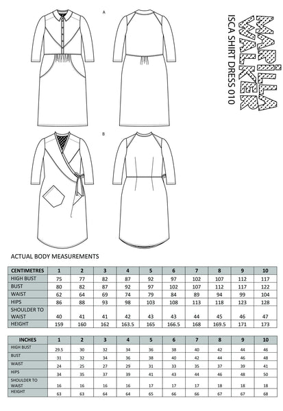 Isca Shirt Dress
