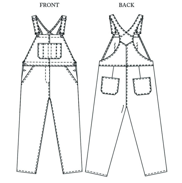 The Harlene Dungarees