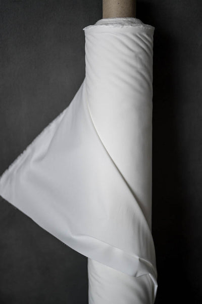 Cotton Percale / White