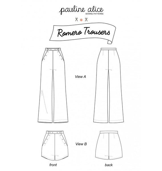 Romero Trousers + Shorts