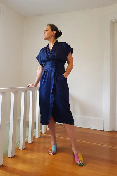 Wildwood Wrap Dress + Curvy