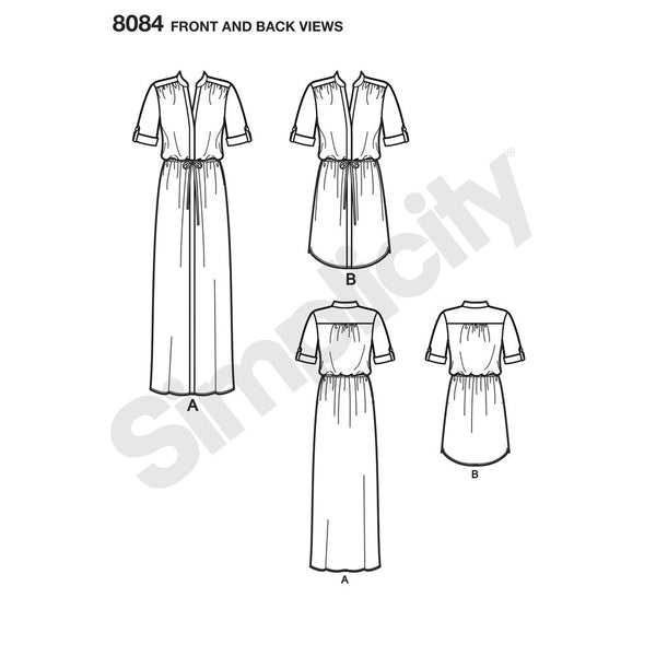 8084 Misses ShirtDresses