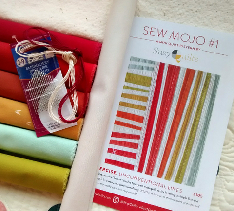 Sew Mojo #1 Mini Quilt KIT