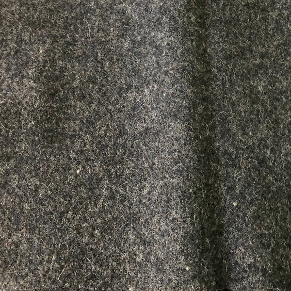 Wool Coating in Heathered Grey