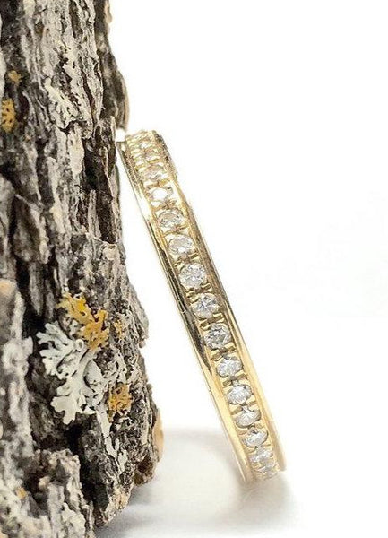 Diamond Eternity Band 3/8 Carat 14k Yellow