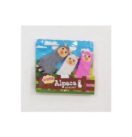 Alpaca Eraser Set (Suggested Goody Bag Item)