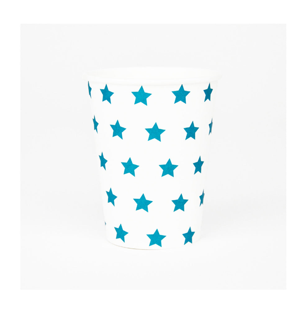Blue Stars Party Cups