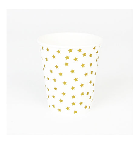 Golden Stars Party Cups