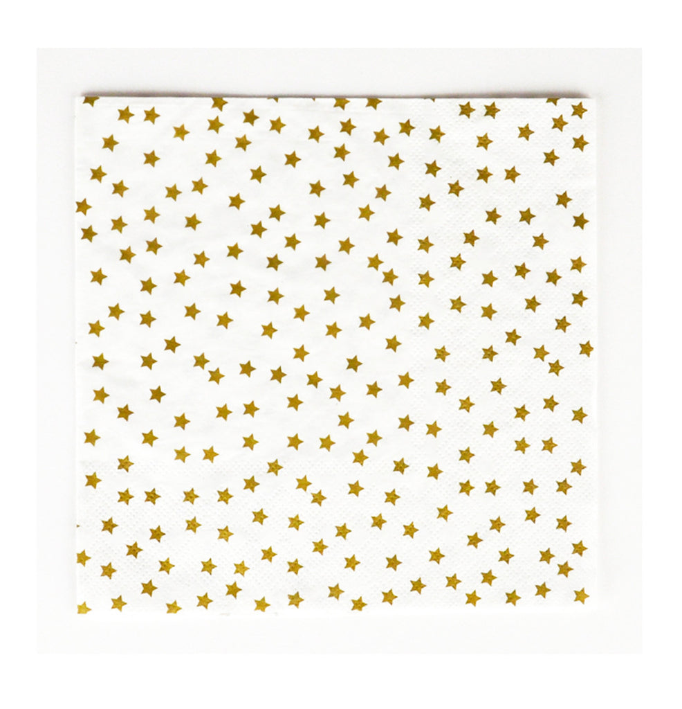 Golden Stars Napkins