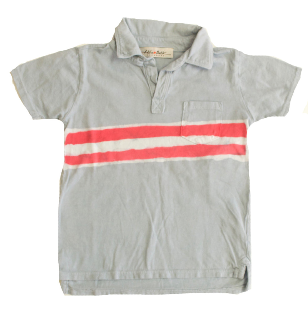 Polo Red Stripes Size 2