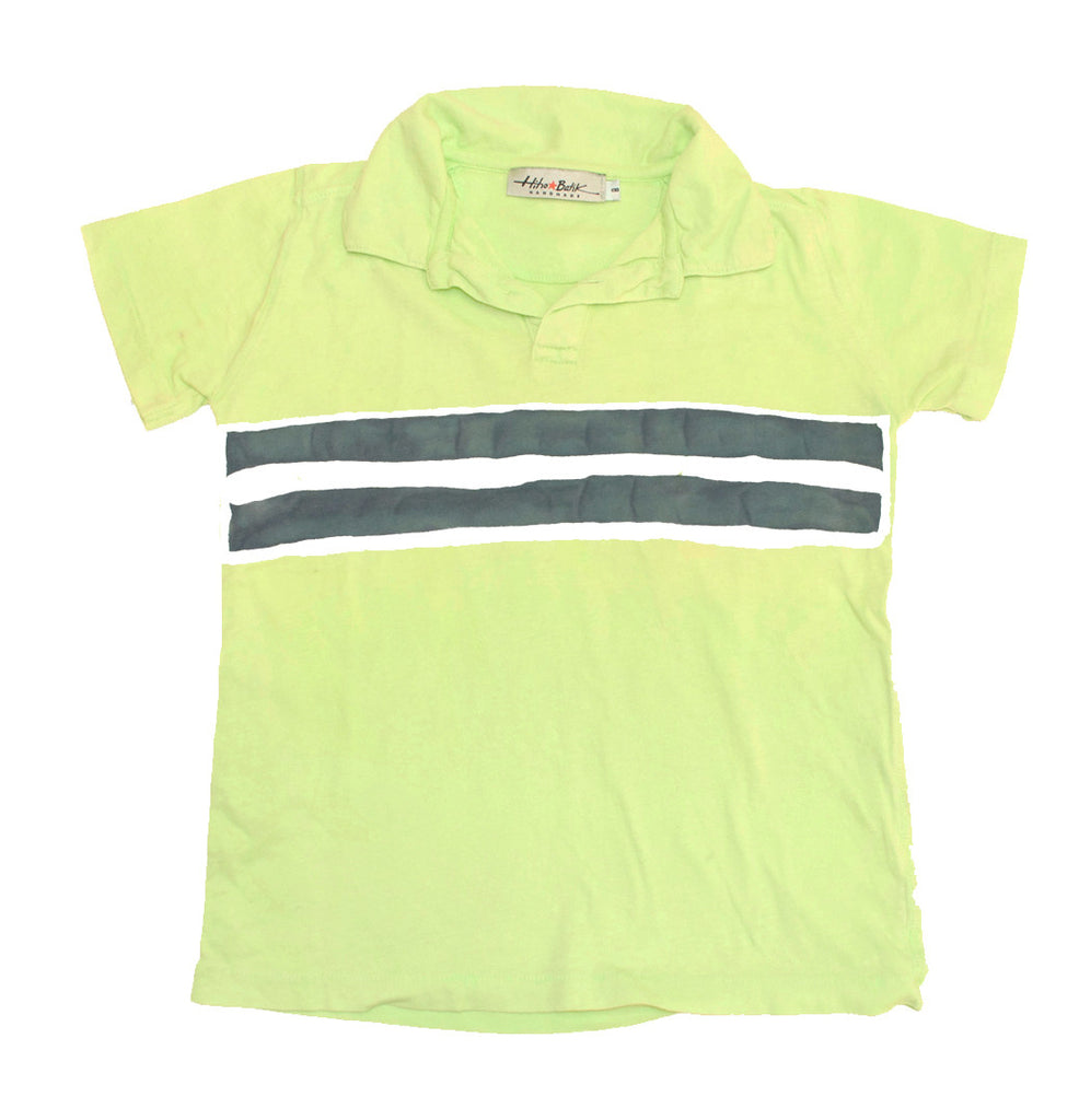 Polo Stripes Lime Size 6