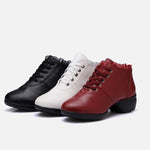 Dance shoes soft sole casual shock absorption sneakers