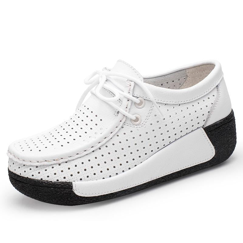 Fashion Women Lace-up Casual Shoes
