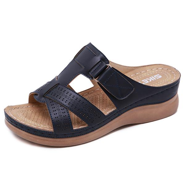 Summer Handmade Stitching Hollow Casual Comfy Sandals