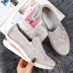Women Comfortable Breathable  Slip-on Sneakers