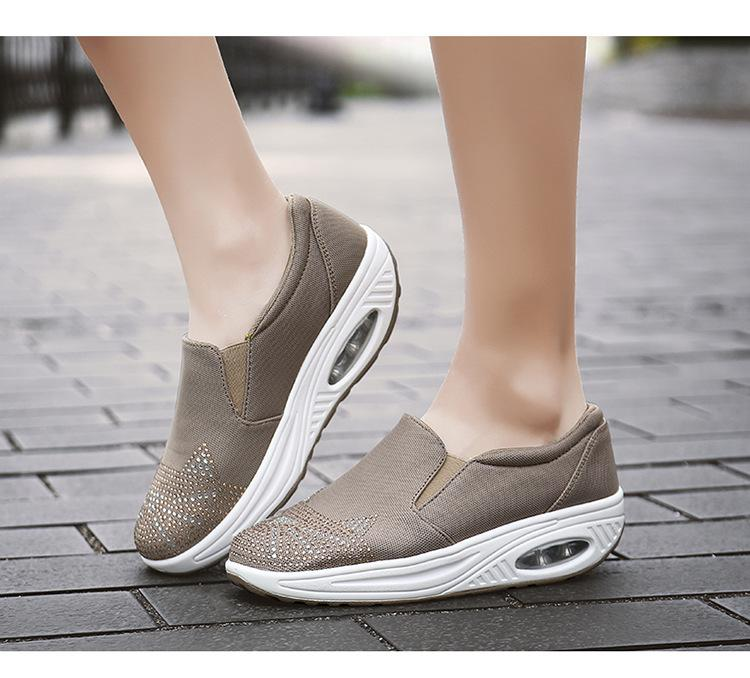 Women's Air Cushion Walking Shoes-shoeri