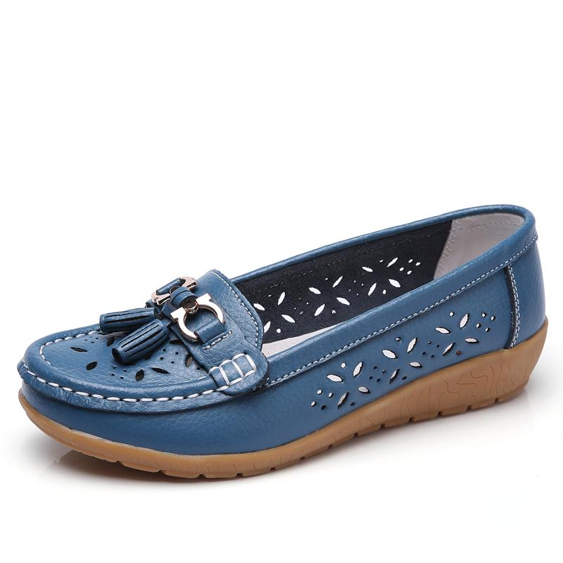 Women's Casual Comfort Hollow Walking Driving Loafers